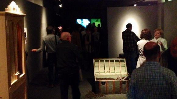 Jordi Lara i Toni Casassas inciten a la creativitat amb una mostra abstracta