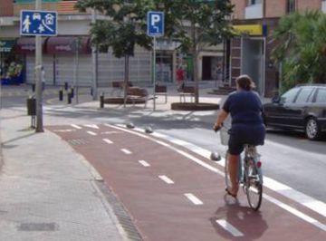 ProBici aplaudeix la inauguració del carril bici a la Rambla de Can Mora