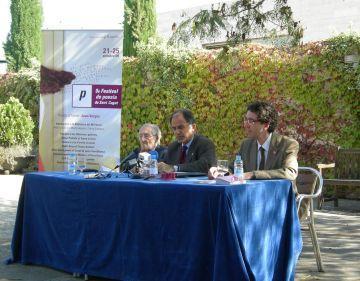 El Festival de Poesia de Sant Cugat homenatja Joan Vergés entre el 21 i el 25 d'aquest mes