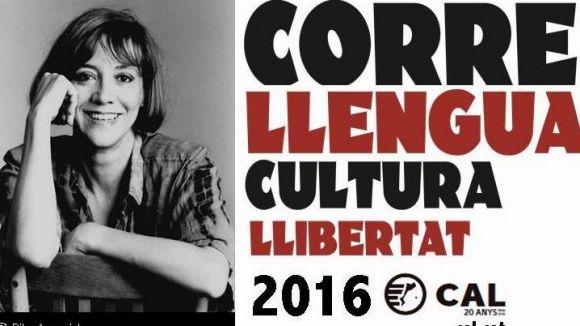 Sant Cugat dóna suport al Correllengua per impulsar l'ús social del català