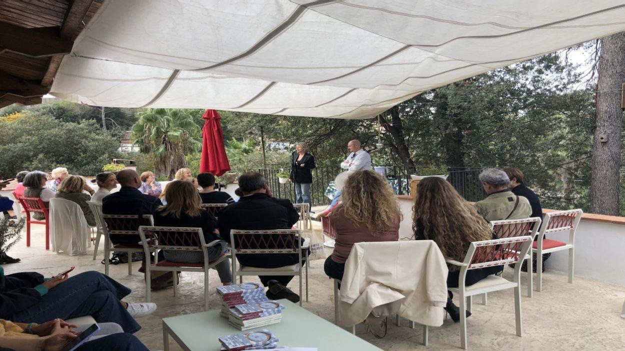 Rosa Masip i Fernando Marías presenten el llibre 'Al otro lado de la brújula' / Foto: Cugat Mèdia