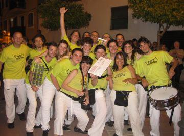 Kata Kitinga guanya el segon premi al Concurs de percussió de Torredembarra