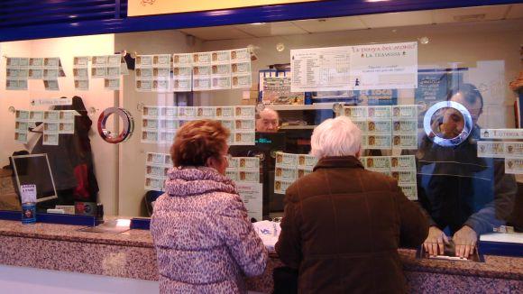 La Loteria de Nadal esquiva Sant Cugat i la deixa sense premis destacats