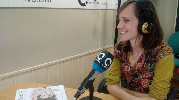 Nina da Lua i Joana Santamans (via telefònica) han presentat el llibre
