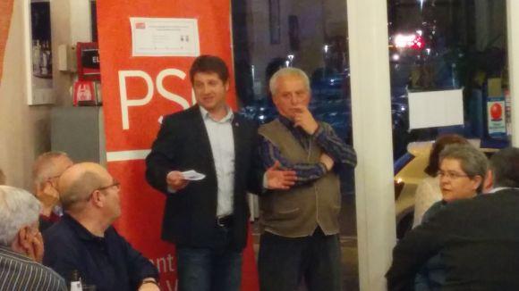 El PSC de Sant Cugat homenatja Alfonso Guisado i la població de La Haba
