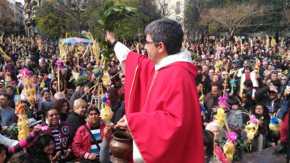La plaça d'Octavià s'omple en un multitudinari Diumenge de Rams