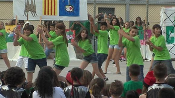 Fi de curs 2013-2014 de l'escola Collserola