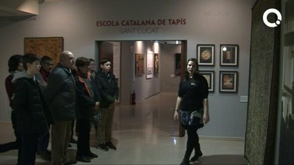 Visita al Museu del Tapís Contemporani