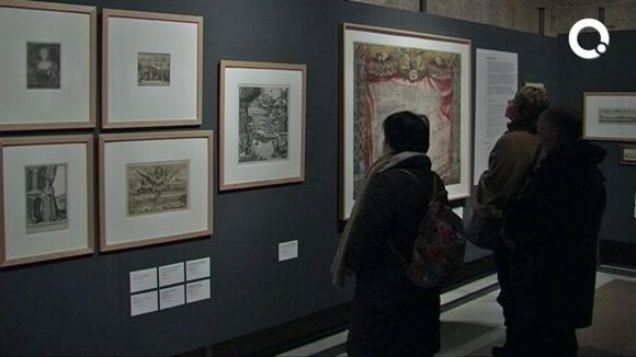 El Museu del Monestir rememora el 1714 a través d'una exposició de gravats