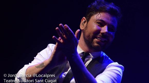 Miguel Poveda fa vibrar Sant Cugat amb un doble concert amb entrades exhaurides