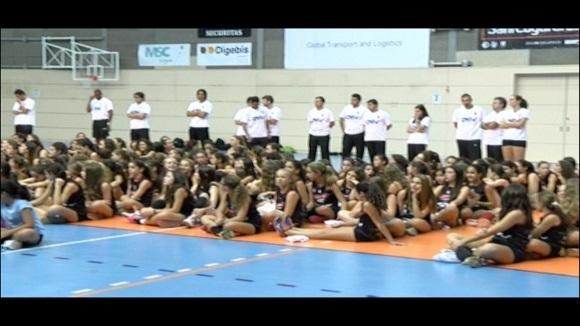El DSV-Volei Sant Cugat presenta els equips i candidatura pel Campionat Infantil