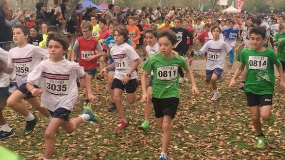 4.052 atletes disputen la 17a edició del Cros Ciutat de Sant Cugat