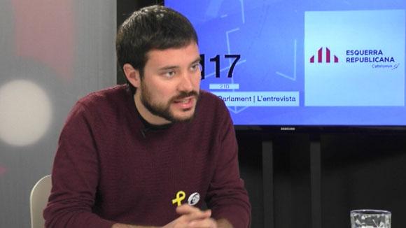 Entrevista a Bernat Picornell, senador d'ERC (Eleccions Parlament 2017)