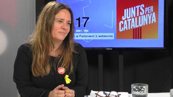 Entrevista a Anna Figueras, número 36 de Junts per Catalunya (Eleccions Parlament 2017)