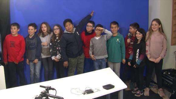 Alumnes 4t A de primària de l'Escola Collserola