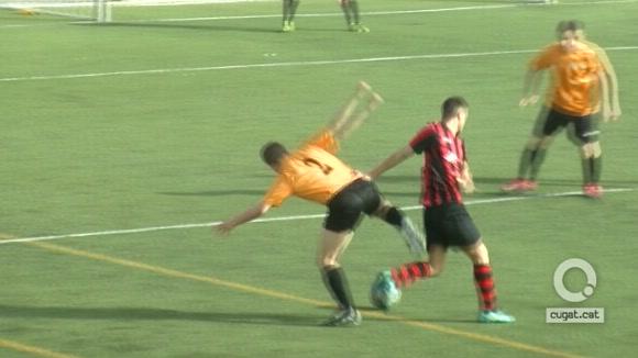 El Sant Cugat B s'emporta un derbi amb poc futbol davant el CFU Mira-sol Baco