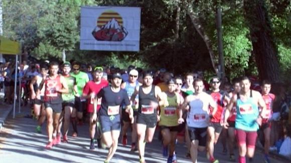 La 35a Cursa de la Floresta té en Emilio Fernández i Alicia Garcia els seus guanyadors