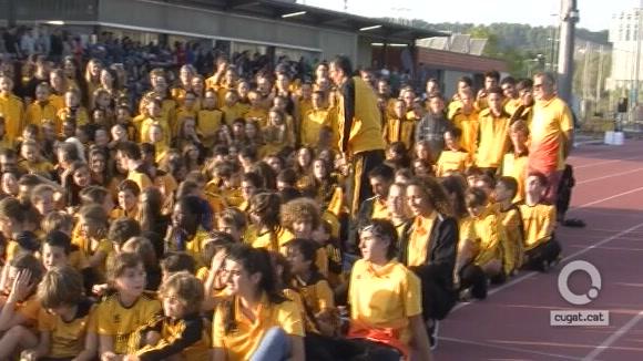 Un Club Muntanyenc Sant Cugat ambiciós presenta els seus 537 atletes a la Guinardera