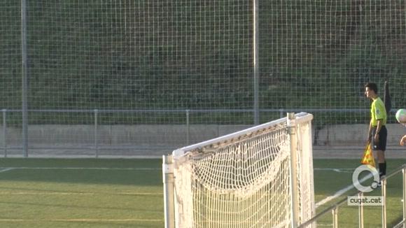 El Sant Cugat FC no pot materialitzar les nombroses ocasions generades i suma un empat a casa