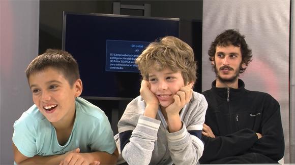 Alumnes de 4t de Primaria (Castellers) de l'Escola Pins del Vallés