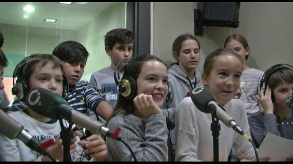 Alumnes de 6è B de Primària de l'Escola Pins del Vallès