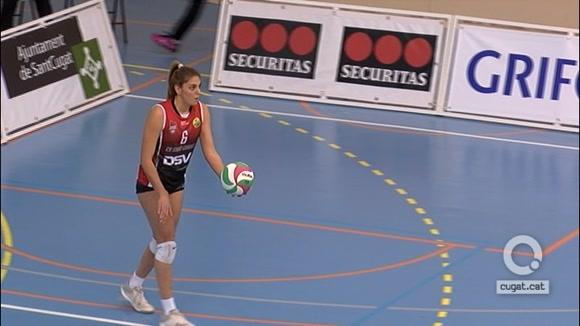A la tretzena va la vençuda per al DSV Club Voleibol Sant Cugat
