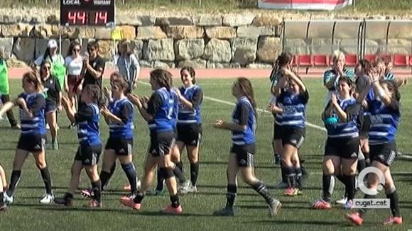 El Rugby Sant Cugat es queda amb la mel als llavis i s'acomiada del play-off d'ascens