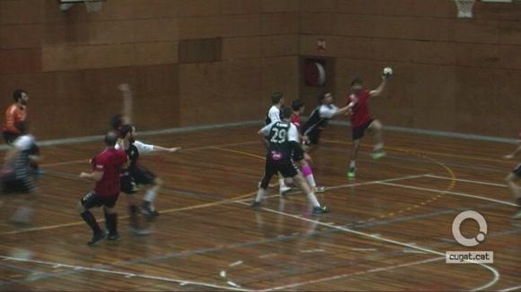 L'Handbol Sant Cugat guanya el Poblenou i allarga la ratxa victoriosa