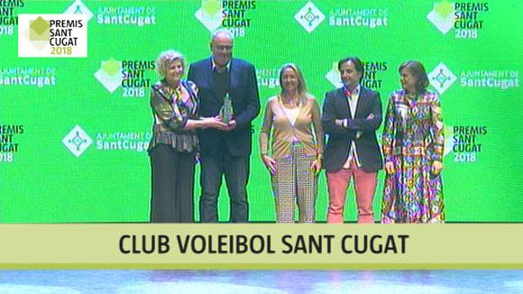 Club Voleibol Sant Cugat, Premi Sant Cugat 2018