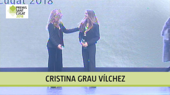 Cristina Grau Vílchez, Premi Sant Cugat 2018