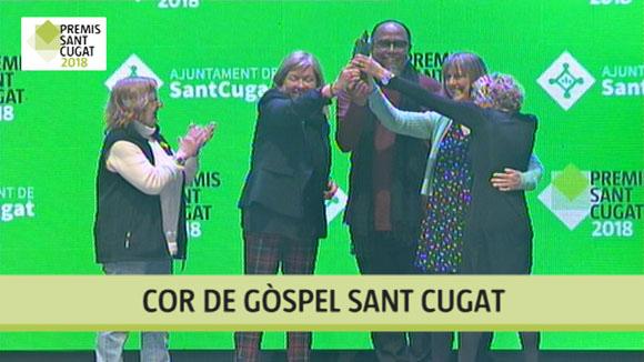Cor de Gòspel Sant Cugat, Premi Sant Cugat 2018