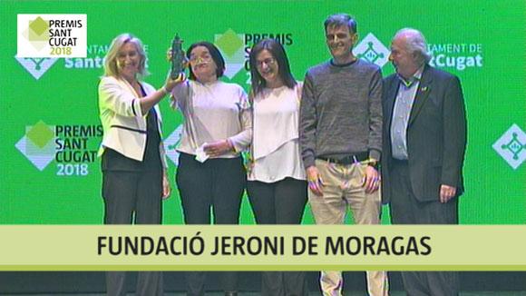 Fundació Jeroni de Moragas, Premi Sant Cugat 2018