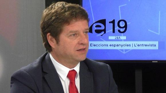 Entrevista a Pere Soler, primer secretari del PSC a Sant Cugat