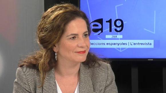 Entrevista a Munia Fernández-Jordán, regidora de Cs i diputada al Parlament