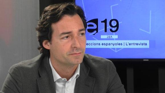 Entrevista a Álvaro Benejam, president del PP a Sant Cugat i candidat al Senat