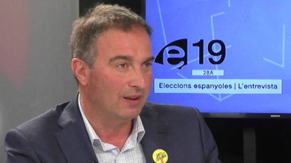 Entrevista a David Miralles, número 25 de JxCat per Barcelona