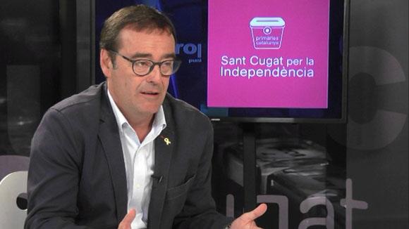 Entrevista a Joan Recasens, alcaldable de Sant Cugat per la Independència-Primàries Catalunya