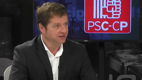 Entrevista a Pere Soler, alcaldable del Partit dels Socialistes de Catalunya