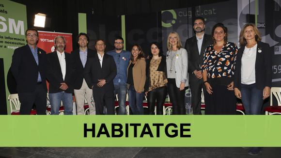 Debat electoral municipals 2019: habitatge