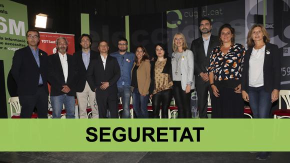 Debat electoral municipals 2019: seguretat