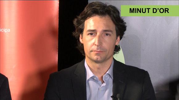 El minut d'or d'Álvaro Benejam, candidat del PP