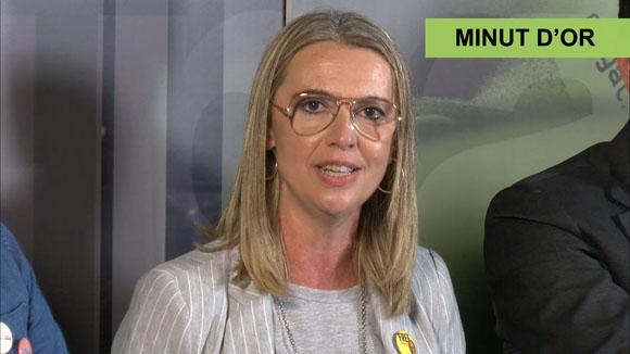 El minut d'or de Mireia Ingla d'ERC-MES