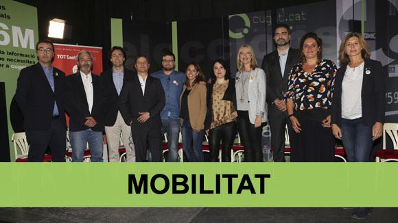 Debat electoral municipals: Mobilitat
