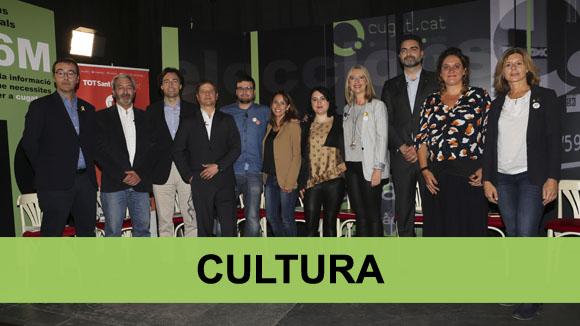 Debat electoral municipals: Cultura