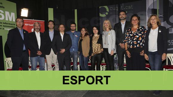 Debat electoral municipals: Esport