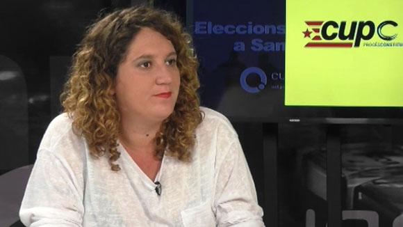 Entrevista a Núria Gibert, alcaldable de la CUP-PC