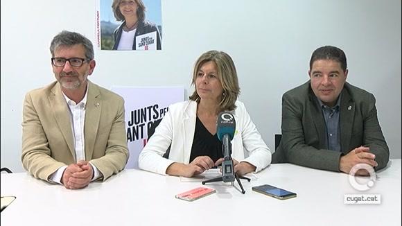 Roda de premsa: Carmela Fortuny sobre no haver assolit el govern municipal
