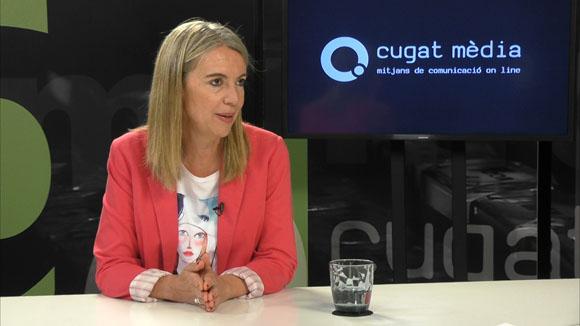 Primera entrevista a la nova alcaldessa de Sant Cugat, Mireia Ingla