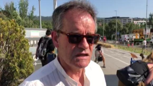 Ferran de Juan explica com viu el Llitboard, la baixada de carros de la Festa Major