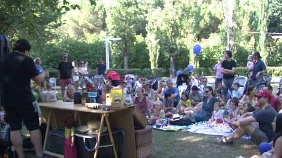 Els més menuts frueixen amb espectacles i activitats al Racó Infantil de Festa Major